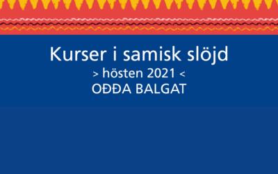 Duodjikurs i Tärnaby