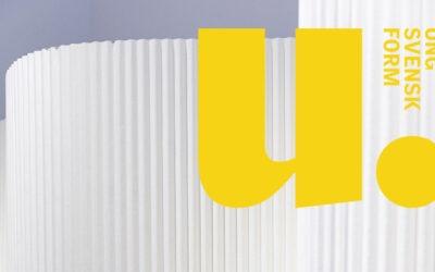 Ung Svensk Form 2021- välkommen med din ansökan senast den 30 september!