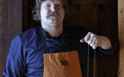 Passion för slöjd och mat – besök hos Kristoffer Åström