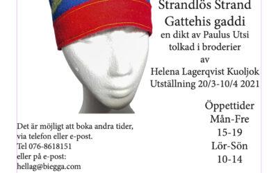 Helena Lagerqvist Kuoljok ställer ut på Sámi Duodji!